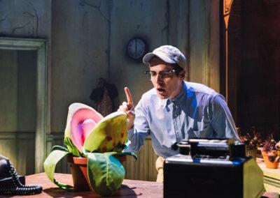Jonathan Groff as Seymour in Little Shop Of Horrors (c) Emilio Madrid-Kuser.