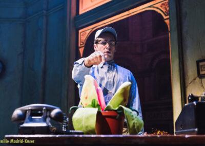 Jonathan Groff as Seymour in Little Shop Of Horrors (c) Emilio Madrid-Kuser