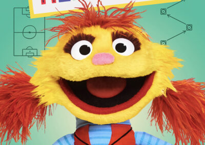 Cody: Helpsters: Property of Apple TV and Sesame Workshop