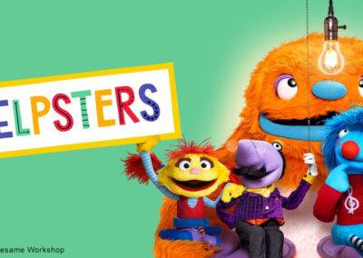Helpsters: Property of Apple TV and Sesame Workshop
