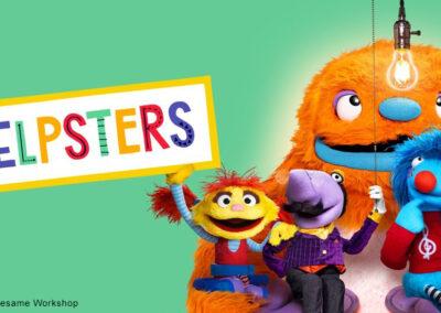 Helpsters: Property of Apple TV and Sesame Workshop