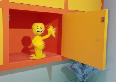 Nupboard in the cupboard - The Dr. Seuss Experience - Property of Monkey Boys Productions