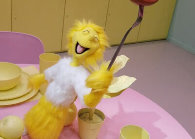Zable on the table - The Dr. Seuss Experience - Property of Monkey Boys Productions